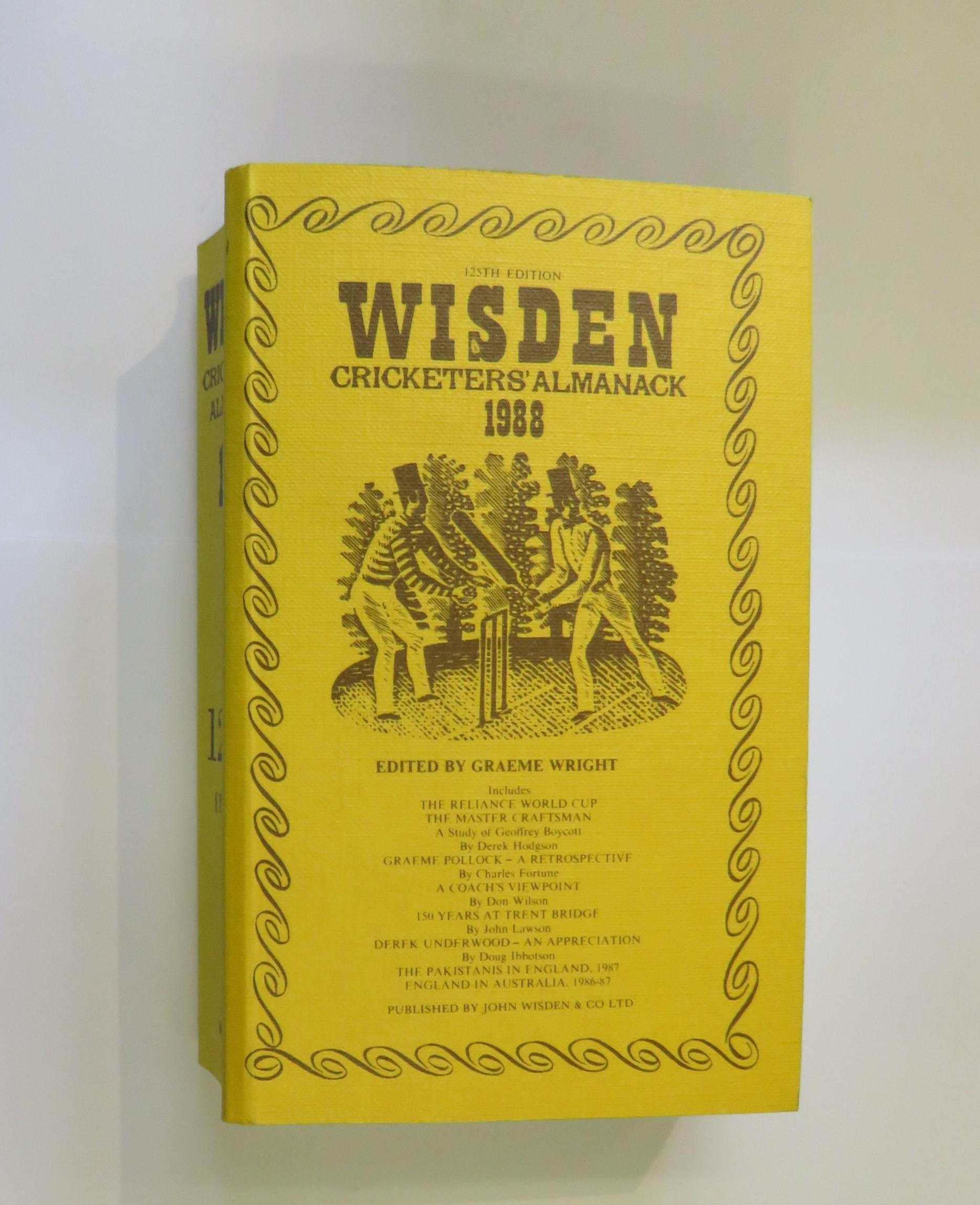 Wisden Cricketers' Almanack 1988