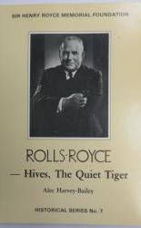 Rolls-Royce - Hives, The Quiet Tiger