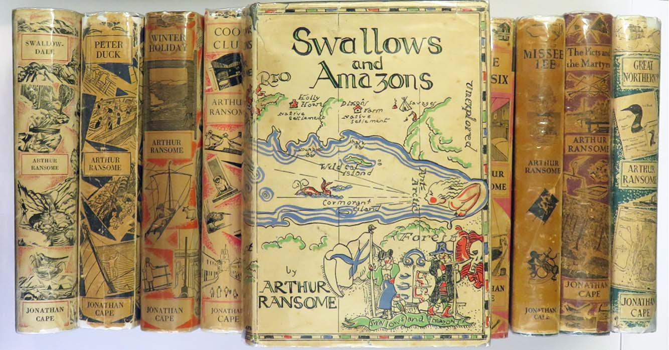 Full Set of Swallows and Amazons First Editions Complete in  12 Volumes