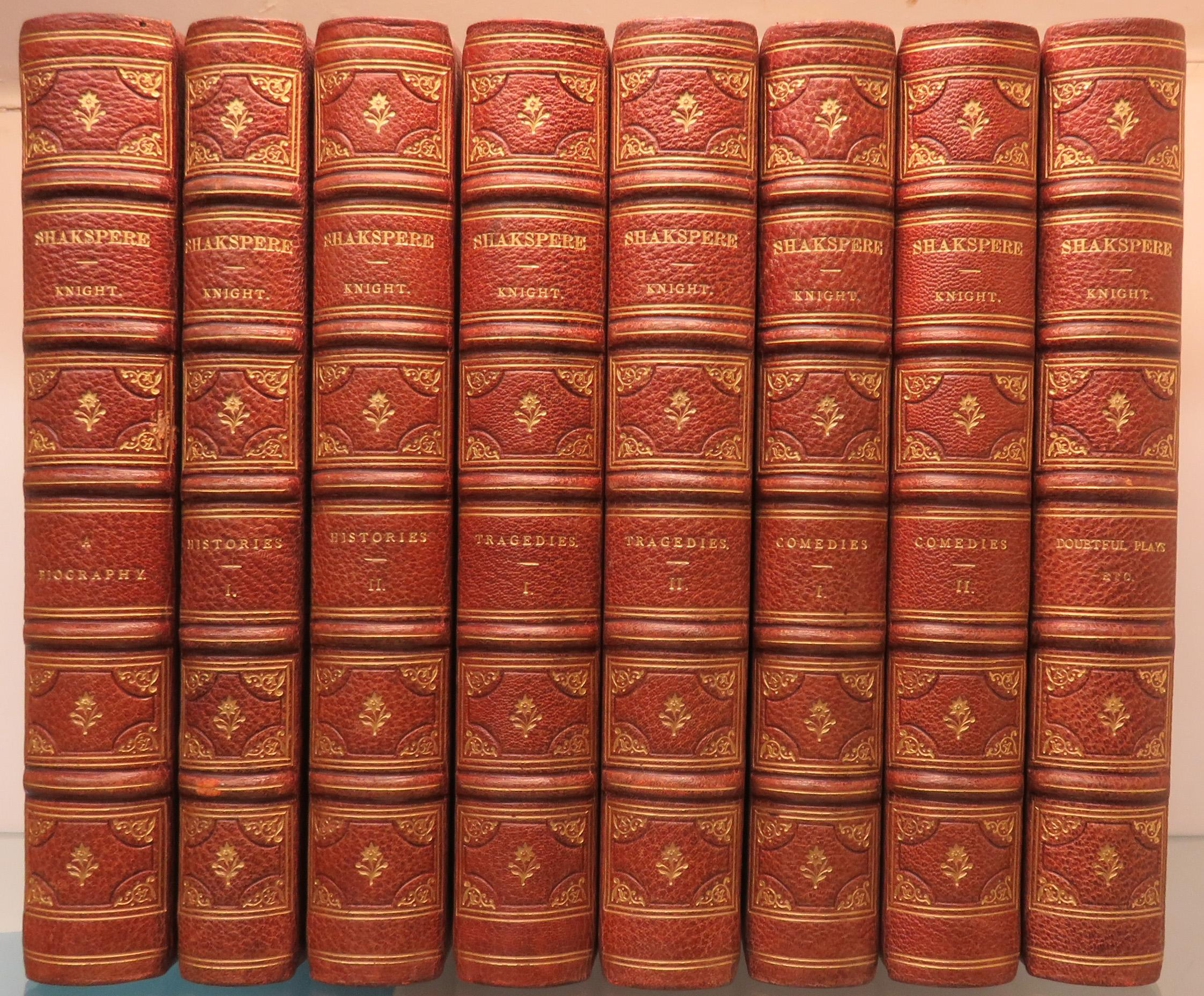 The Pictorial Edition of the Works of Shakspere in 8 Volumes Complete