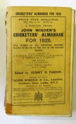 John Wisden's Cricketers' Almanack For 1925