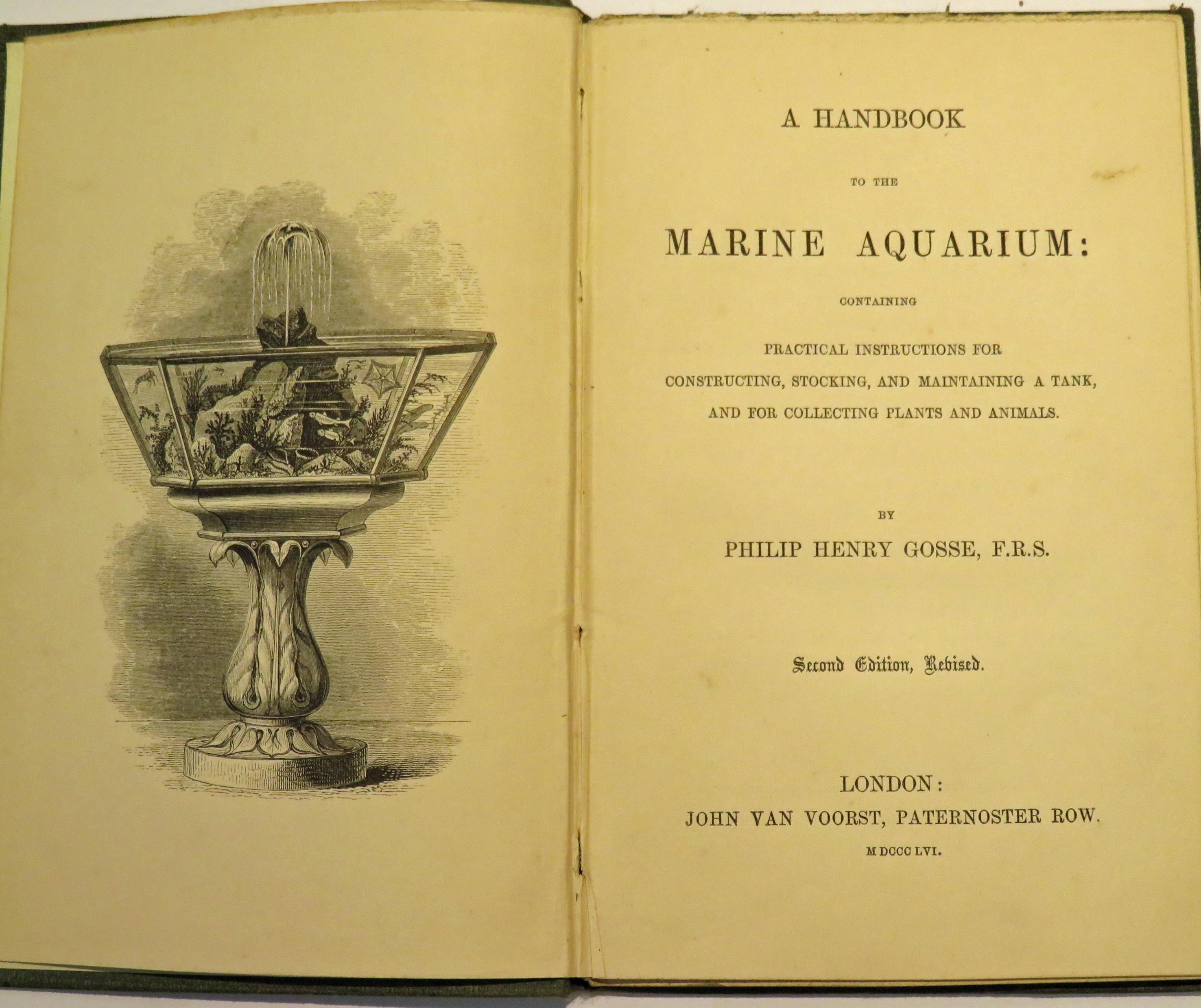 A Handbook to the Marine Aquarium