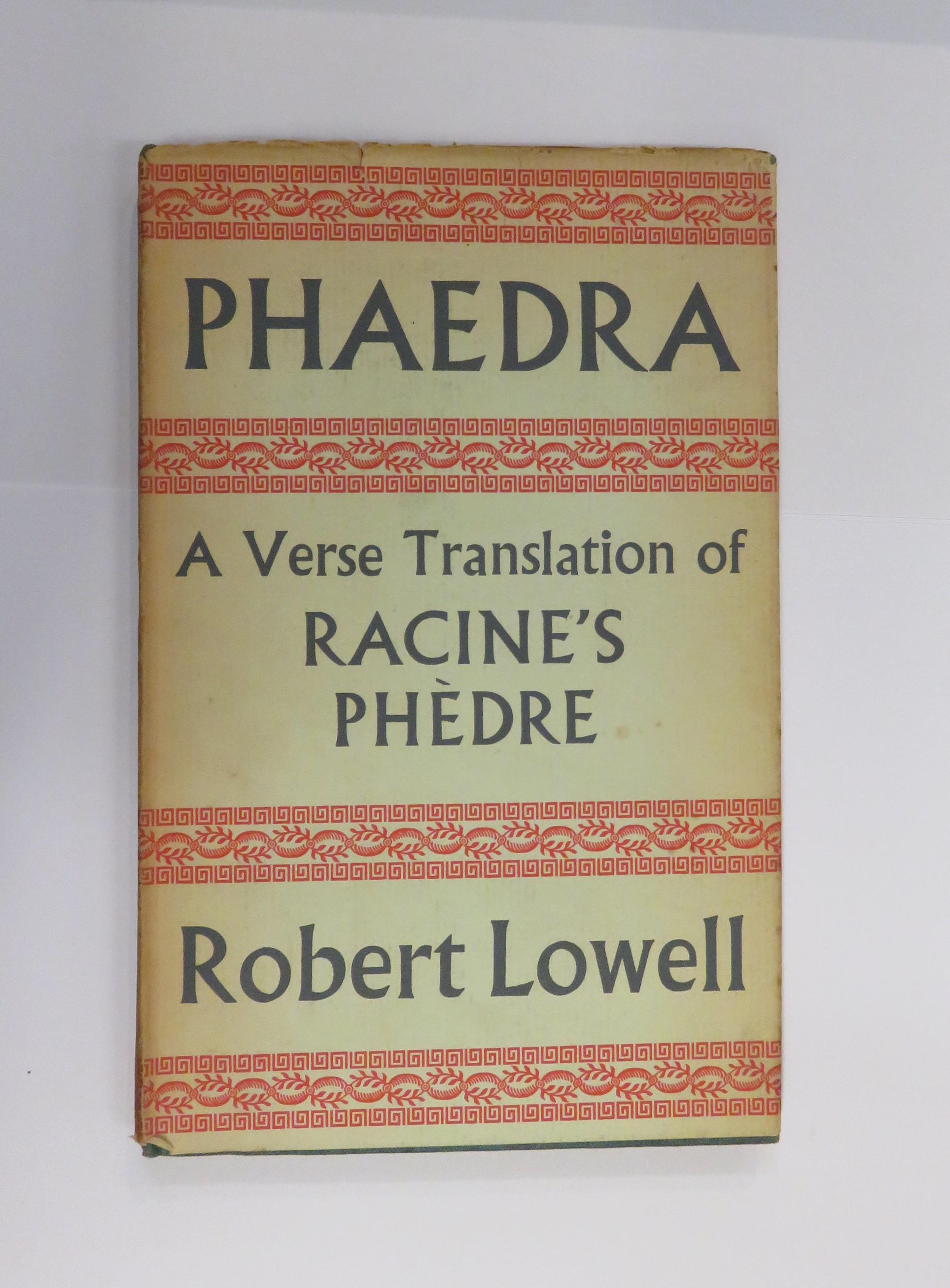 Phaedra: A Verse Translation of Racine's Phedre