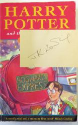 Harry Potter and the Philosopher's Stone Signed First Edition