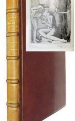 Rubaiyat of Omar Khayyam Signed with Original Etching by Willy Pogany