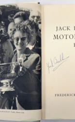 Jack Brabham's Motor Racing Book SIGNED