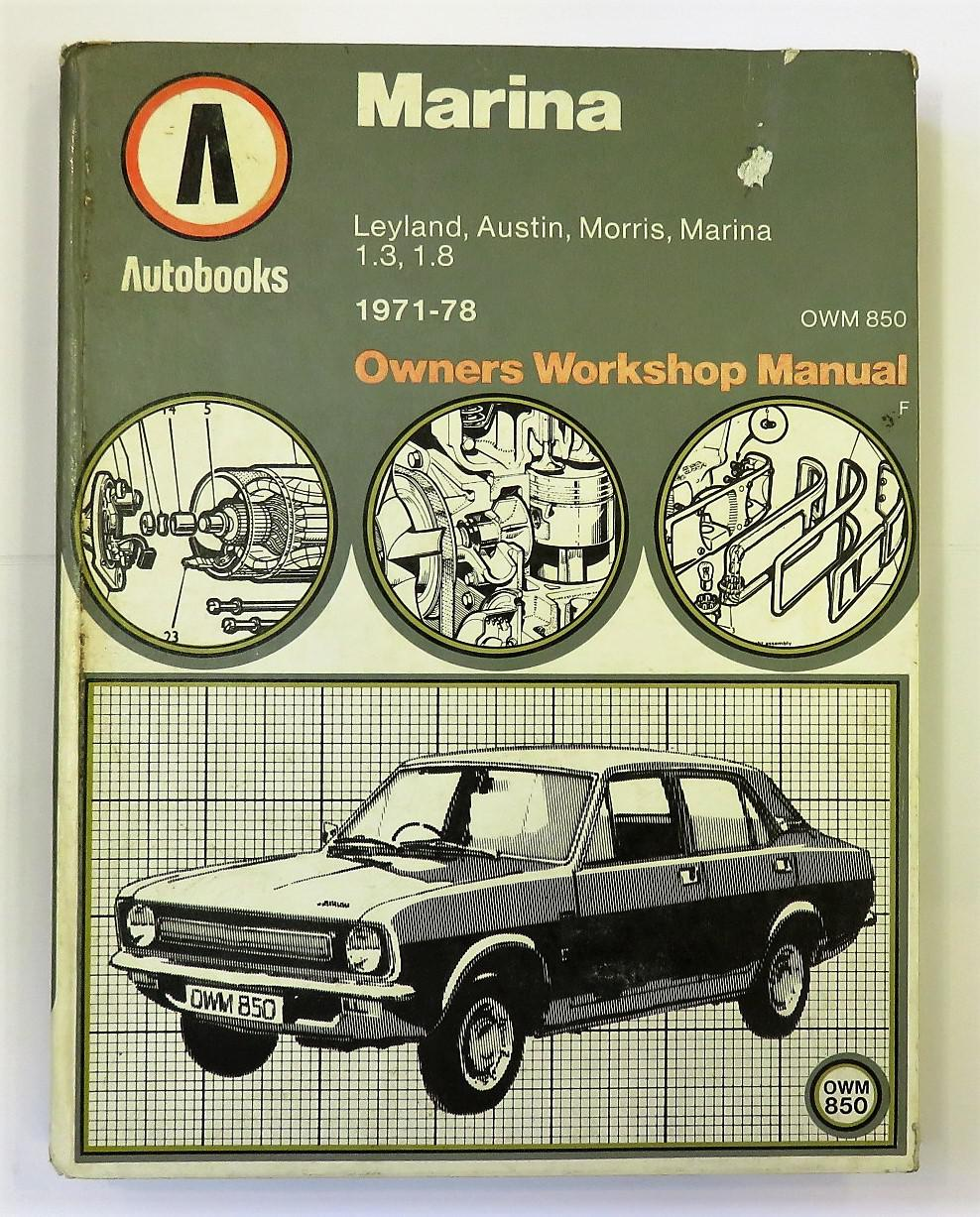Marina 1971-78 Autobook Owners Workshop Manual