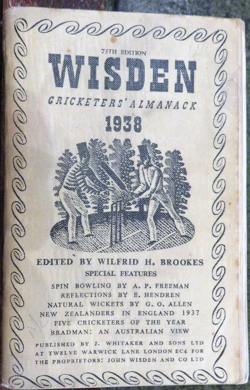 **John Wisden's Cricketers' Almanack For 1938