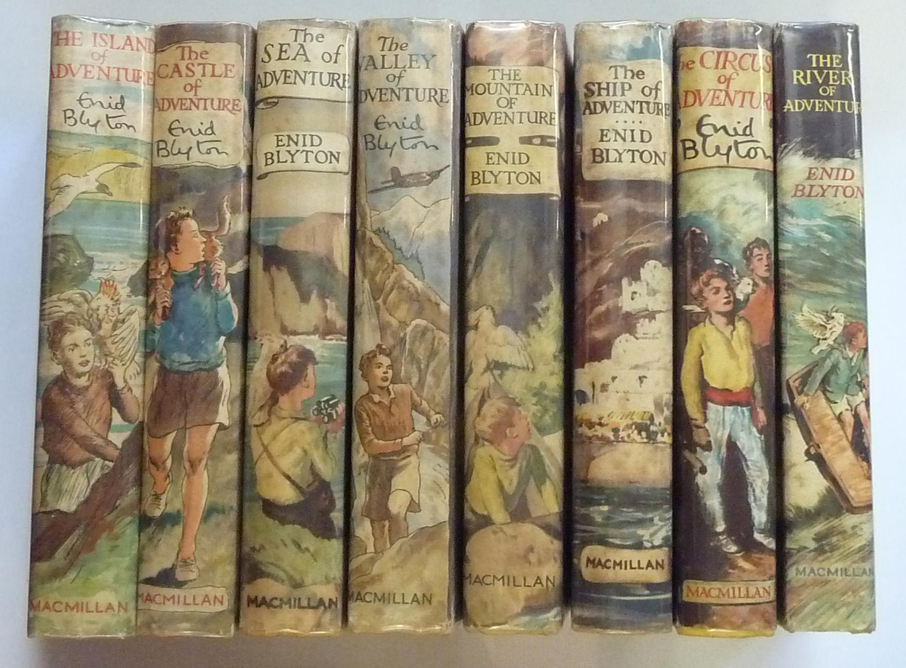 Full Set of The Adventure Series, Complete in Eight Volumes