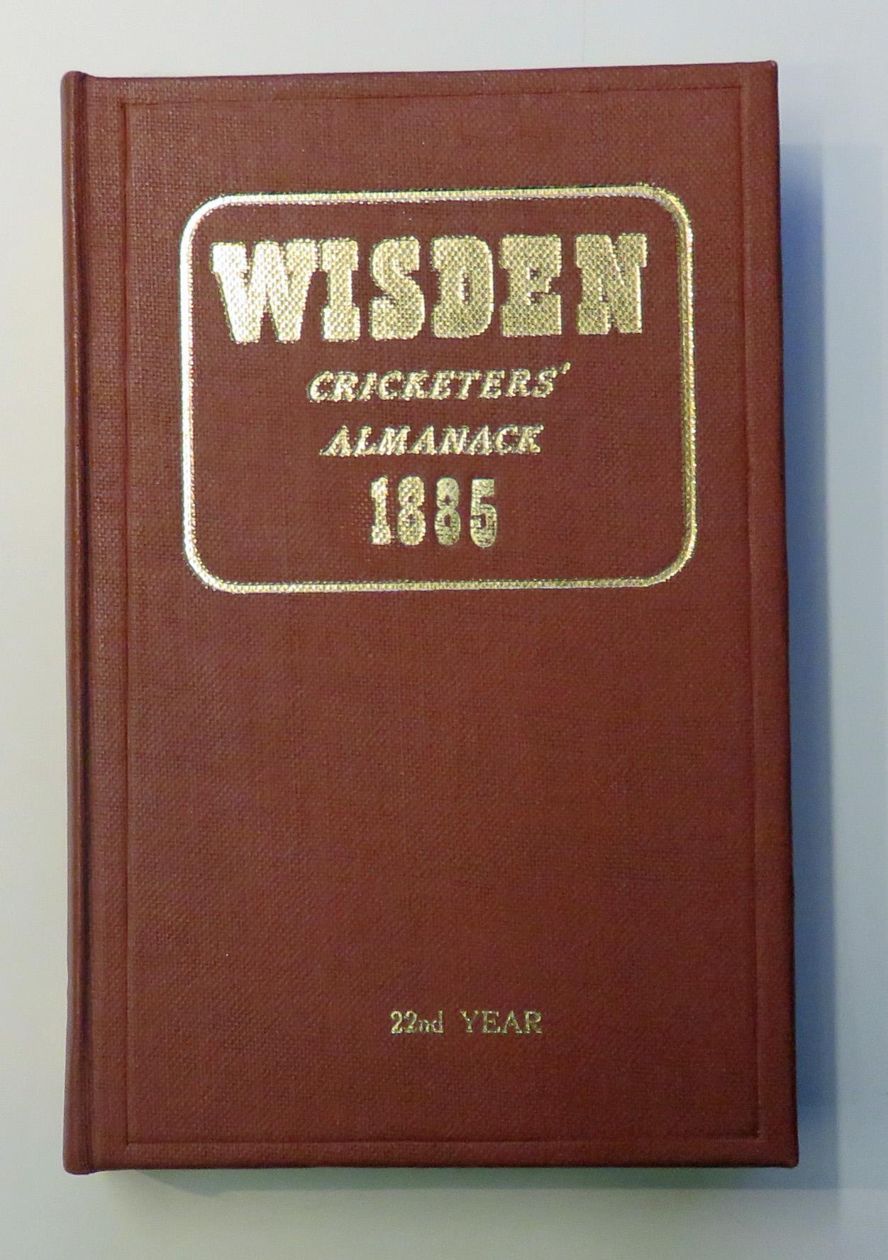 John Wisden's Cricketers' Almanack For 1885
