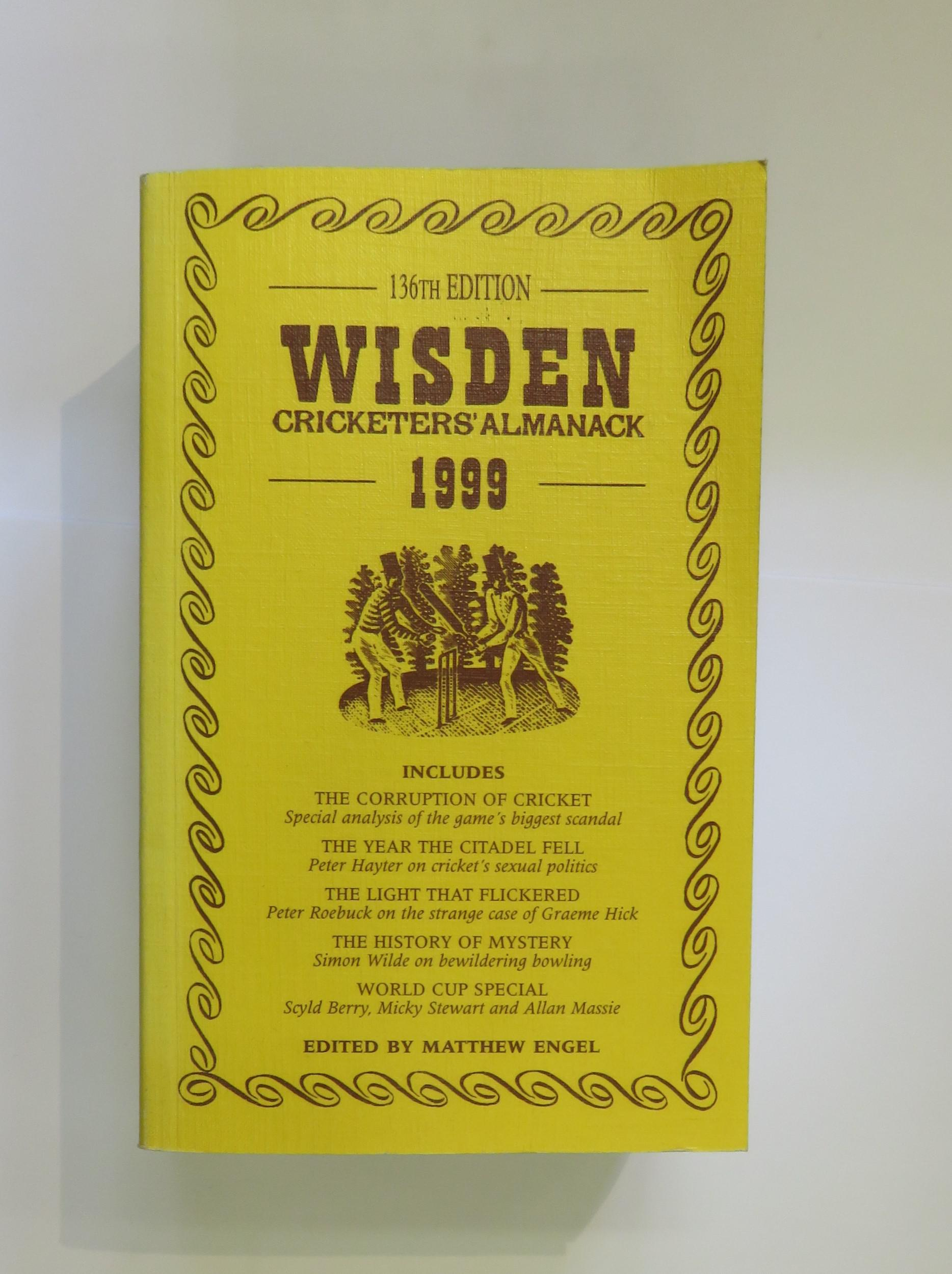 Wisden Cricketers' Almanack 1999