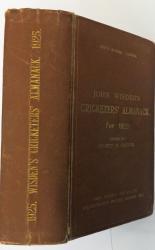 **John Wisden's Cricketers' Almanack For 1925 Hardback