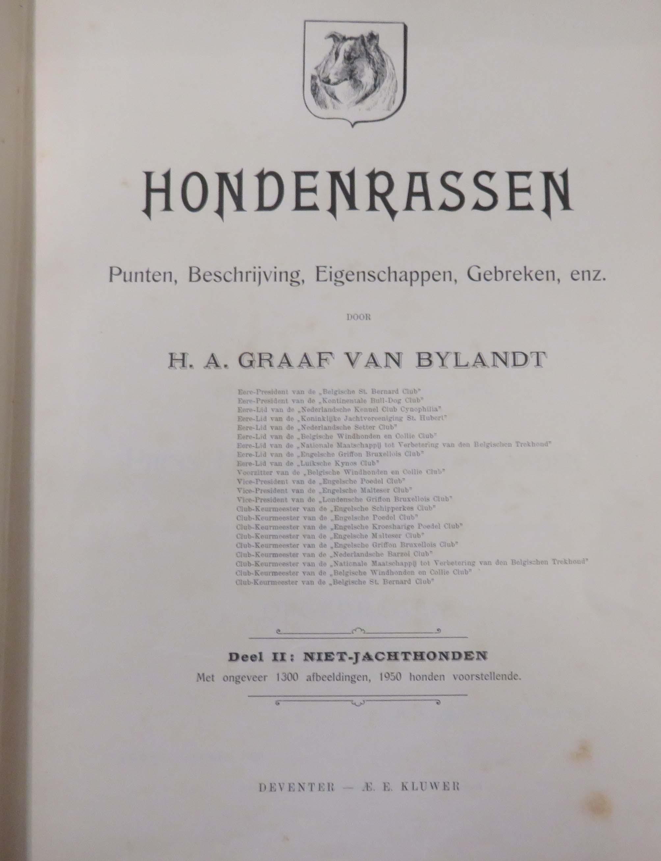 Hondrassen: Punten, Beschrijving, Eigenschappen, Gebreken, enz Compleete in Two Volumes