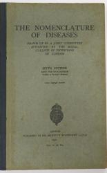 The Nomenclature Of Diseases