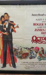 Octopussy Original Movie Quad Poster James Bond