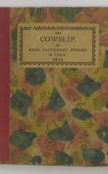 The Cowslip; Or More Cautionary Stories in Verse
