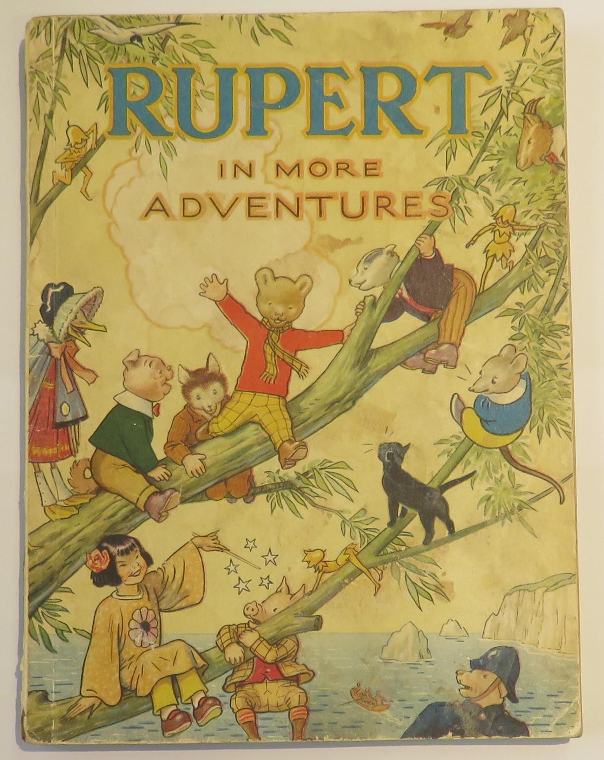 Rupert in More Adventures 1944