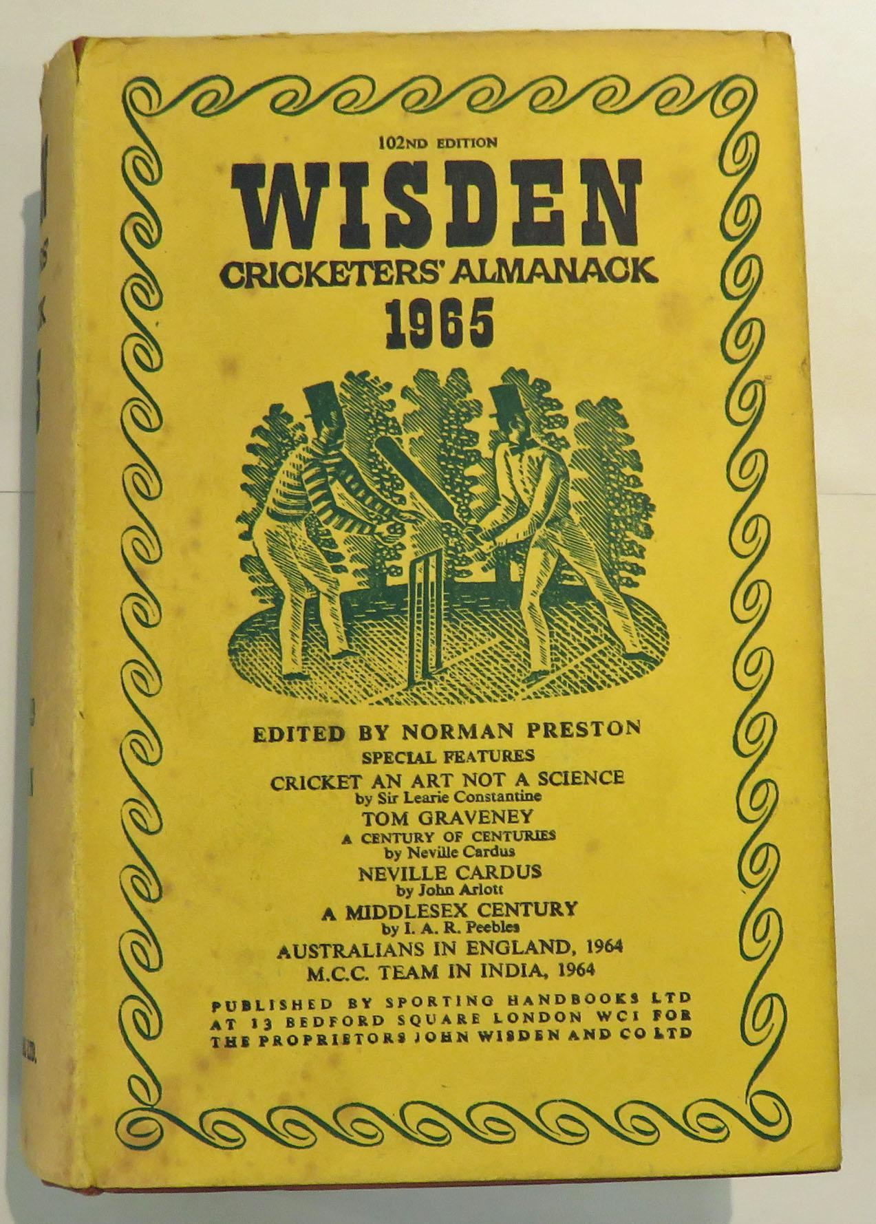Wisden Cricketers' Almanack 1965