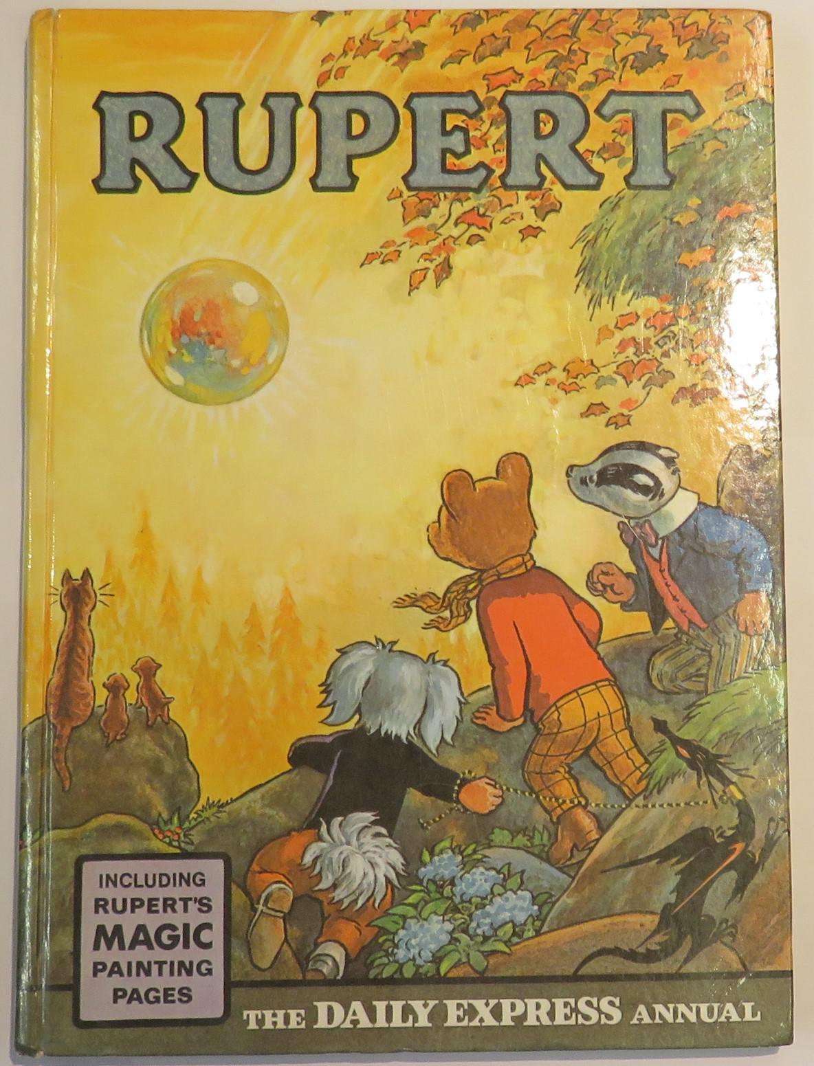 Rupert Daily Express Annual 1968