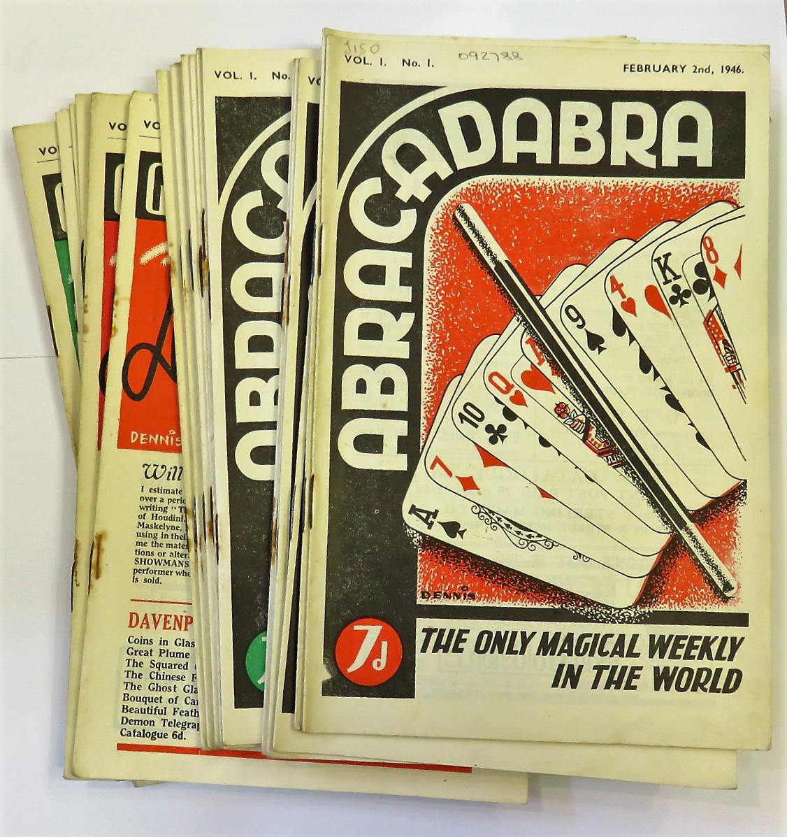 Abracadabra From February  2nd 1946 to July 27th 1946 including Two Summer Specials and One Christmas Special