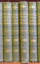 The Poetical Works of Robert Browning 15 volumes
