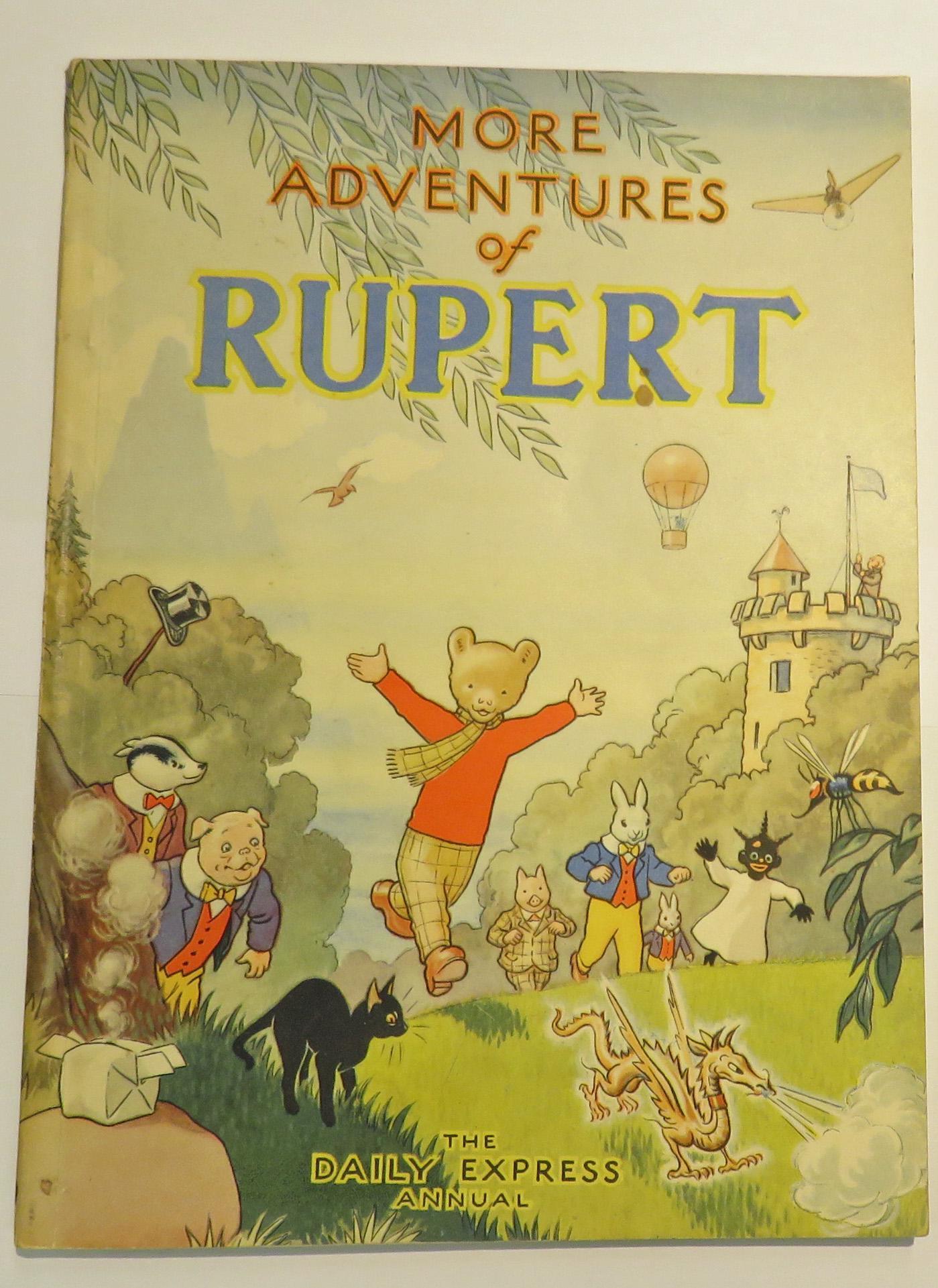 Rupert Annual 1947 More Adventures of Rupert
