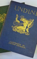 Comus and Undine SIGNED By Arthur Rackham with Original Drawings and Proofs