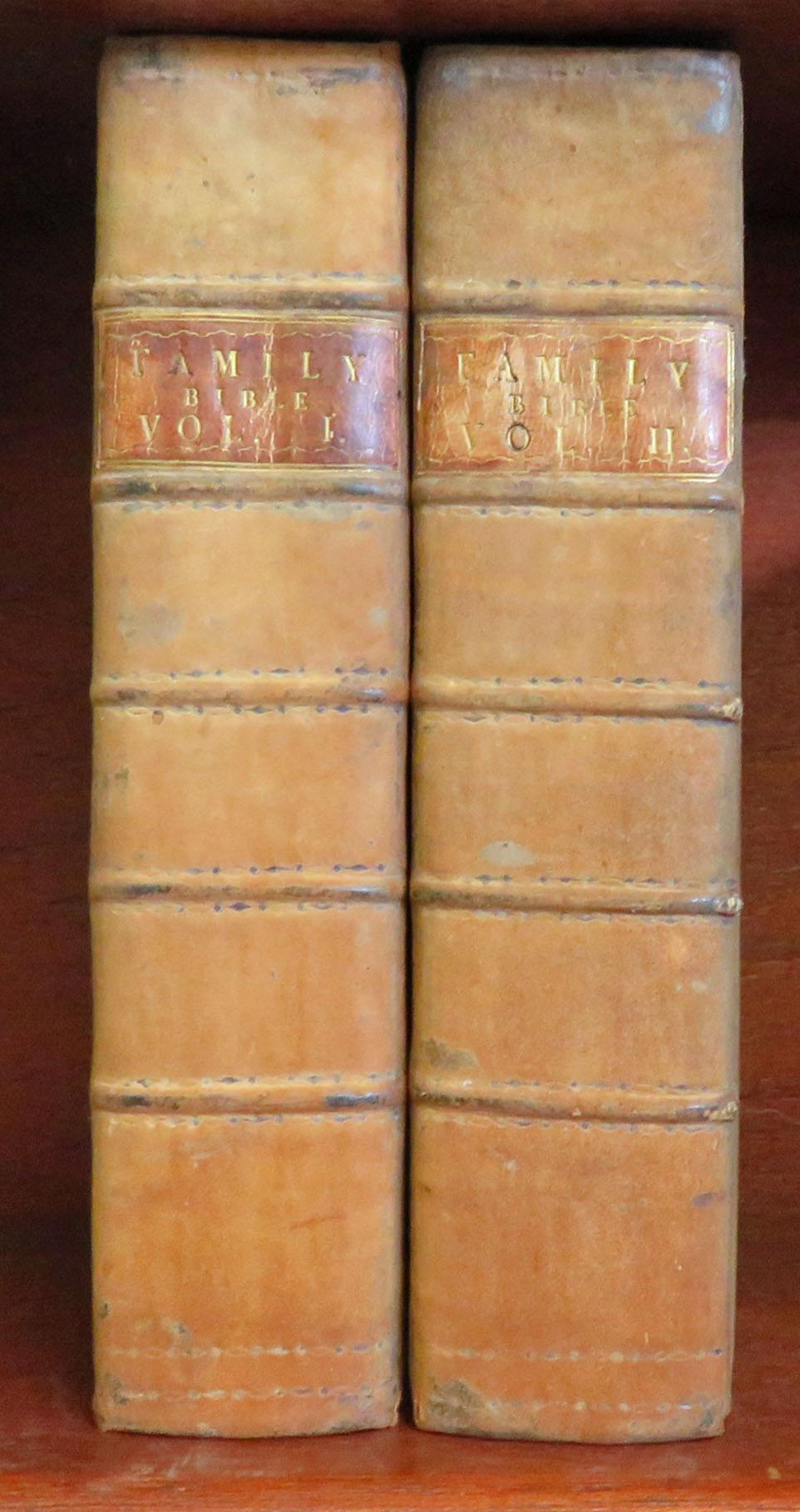 A New Family Bible Containing the Old and New Testaments, with Notes, Illustrations and Practical Improvements in Two Volumes Complete