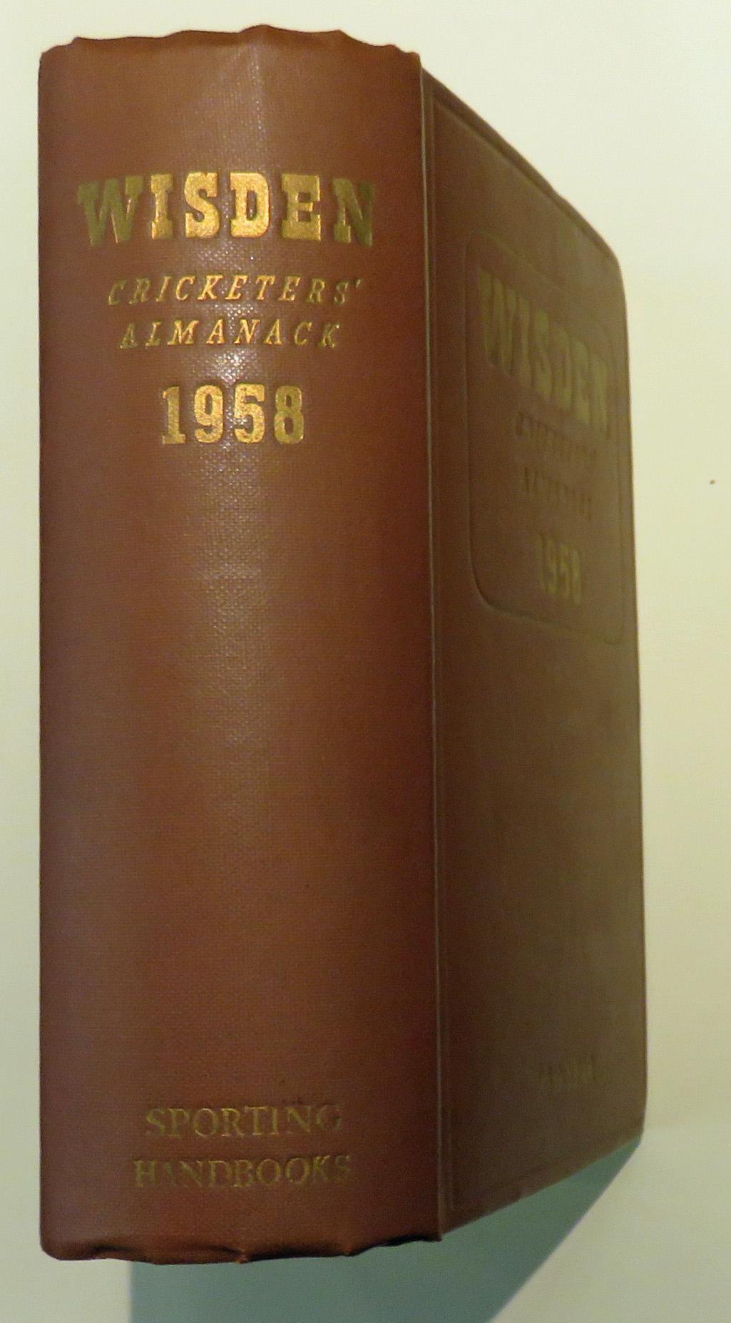Wisden Cricketers' Almanack 1958