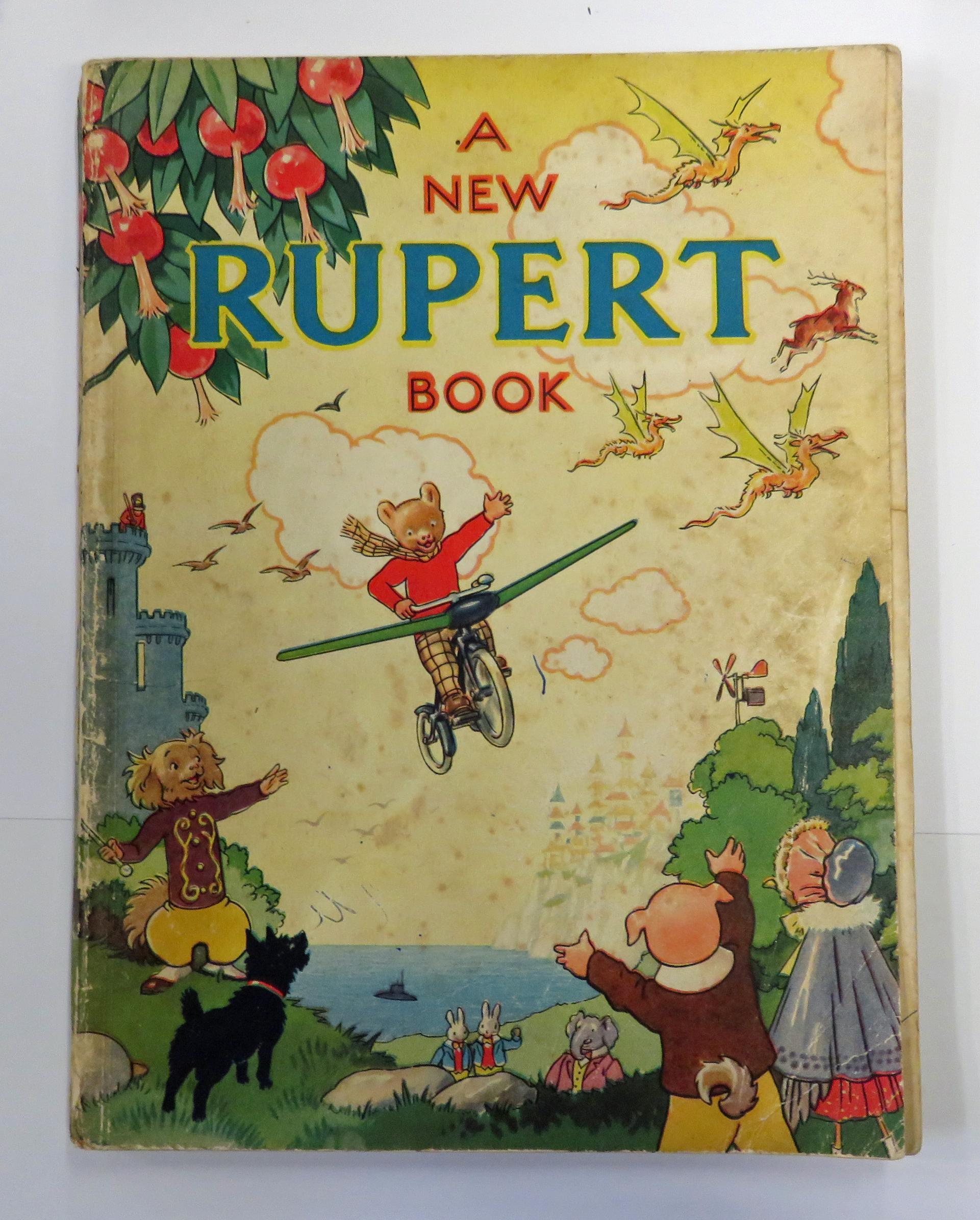 A New Rupert Book Daily Express Annual for 1945