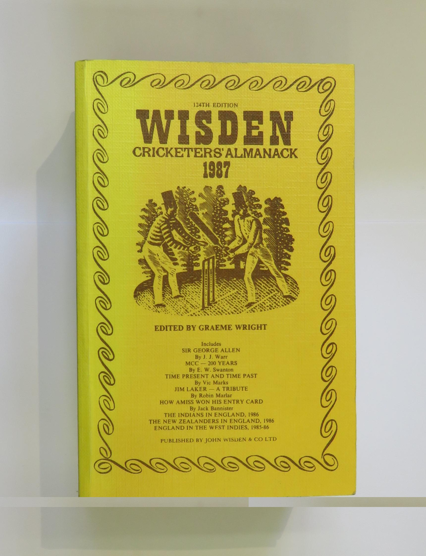 Wisden Cricketers' Almanack 1987