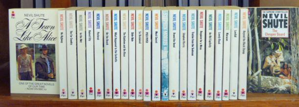 Nevil Shute Collection of 23 Paperback Tiltes Sold As A Collection Only
