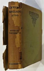 Lyrical Ballads by William Wordsworth and S. T. Coleridge 1798 in SCARCE Dust Jacket