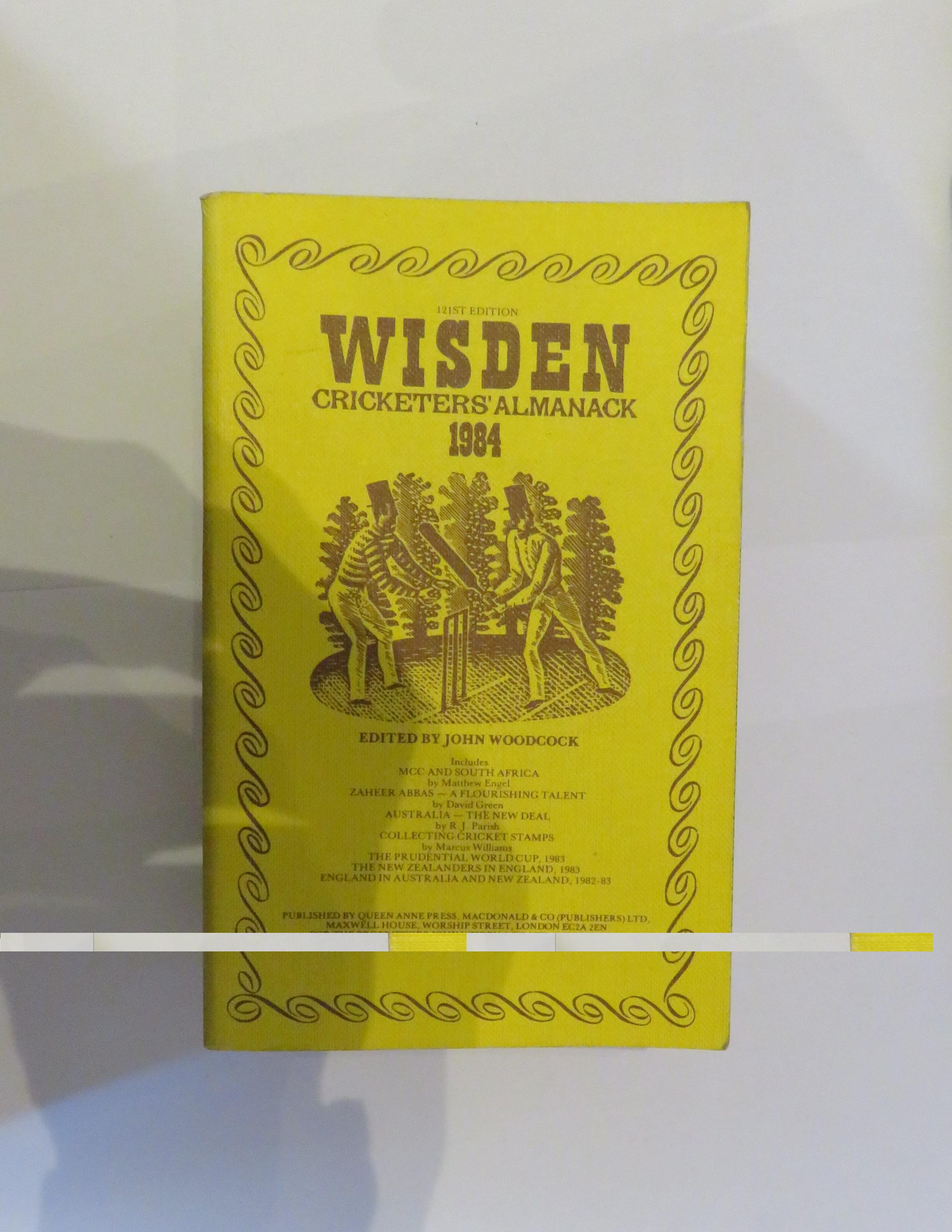 Wisden Cricketers' Almanack 1984