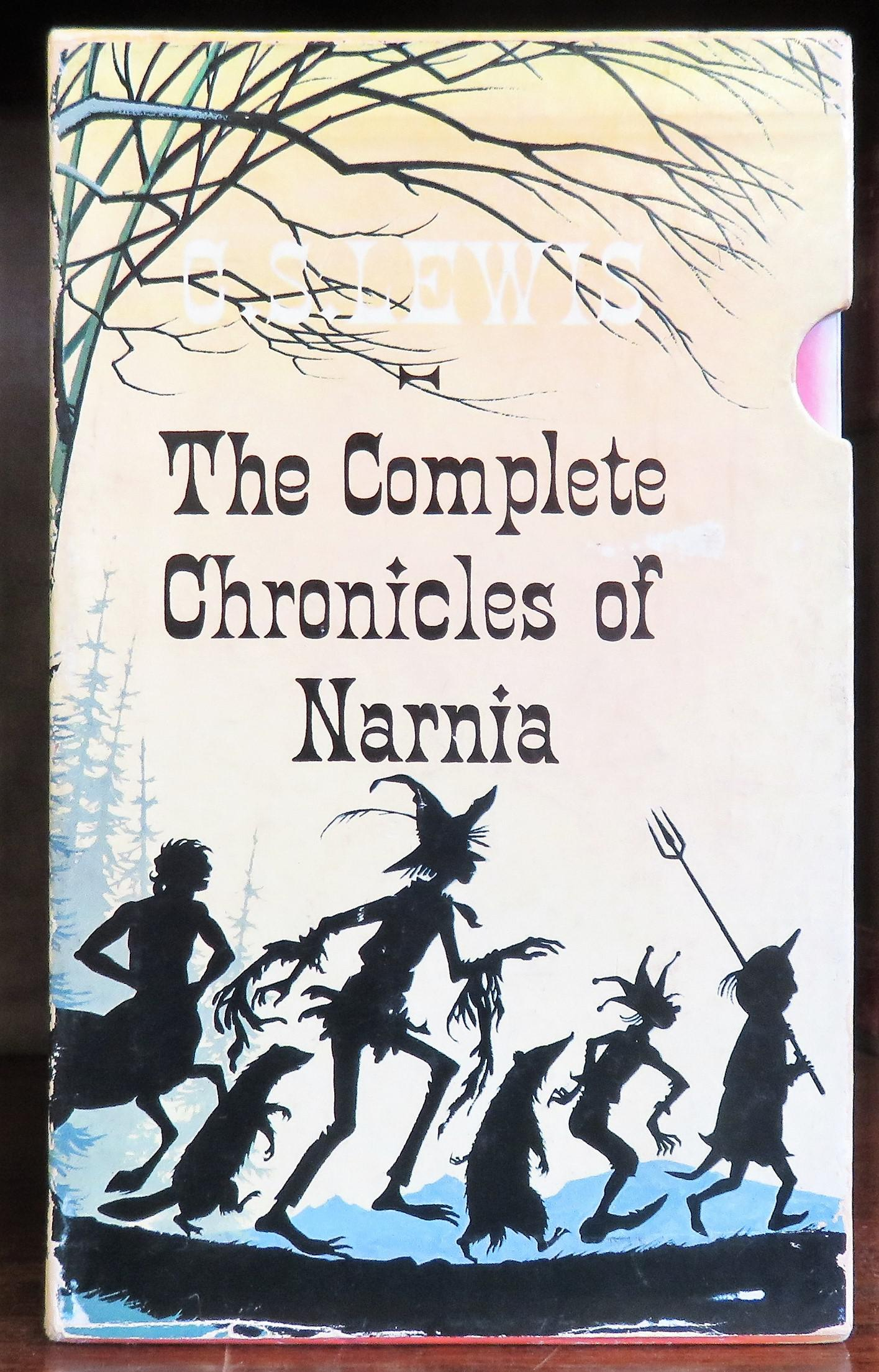 The Complete Chronicles Of Narnia Box Set