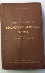 **John Wisden's Cricketers' Almanack For 1912