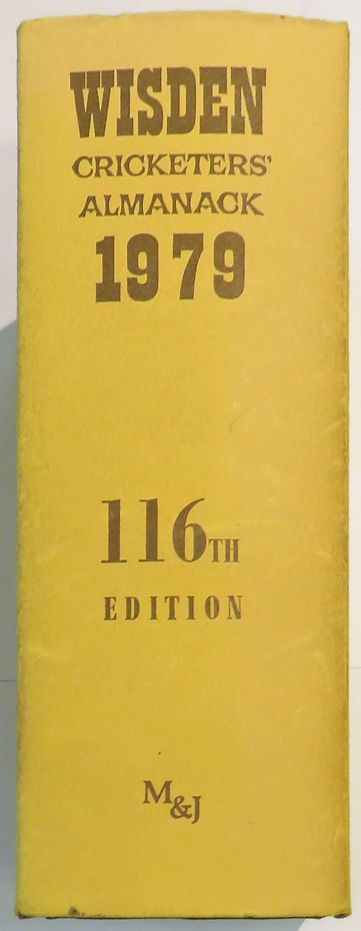 Wisden Cricketers' Almanack for 1979