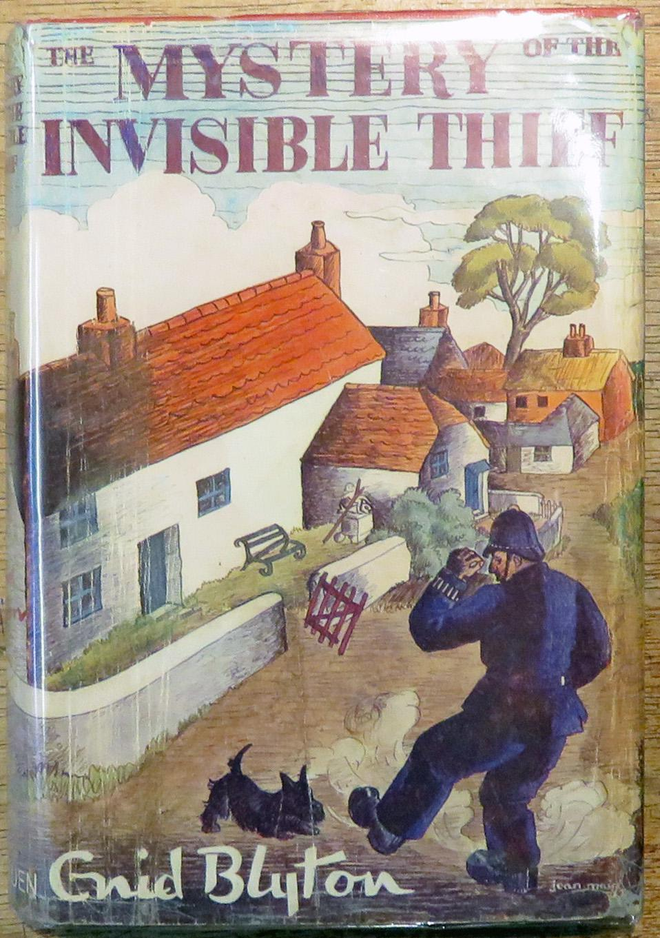 The Mystery of the Invisibly Thief Being the Eighth Adventure of the Five Find-Outers and Dog