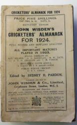 **John Wisden's Cricketers' Almanack For 1924