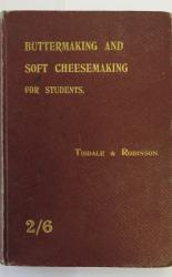 Buttermaking and Soft Cheesemaking for Students