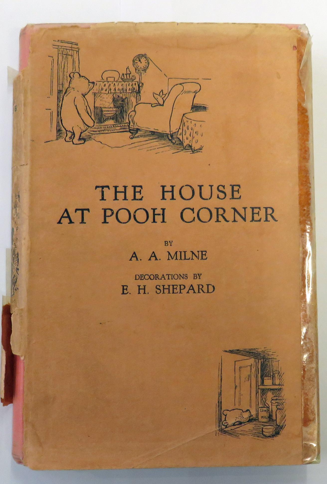 The House At Pooh Corner FIRST EDITION
