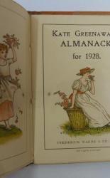 Kate Greenaway's Almanack for 1928