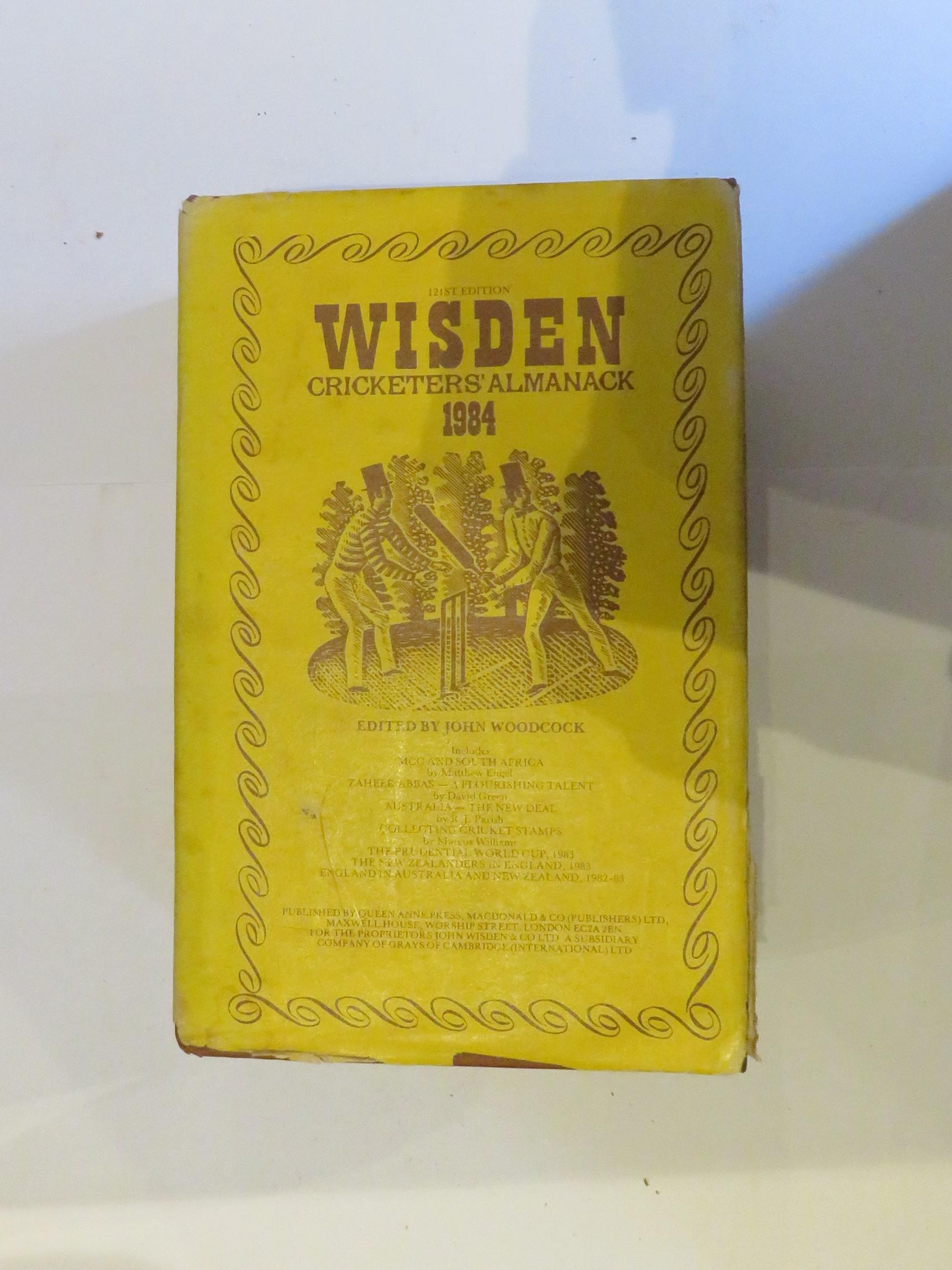 Wisden Cricketers' Alamnack 1984