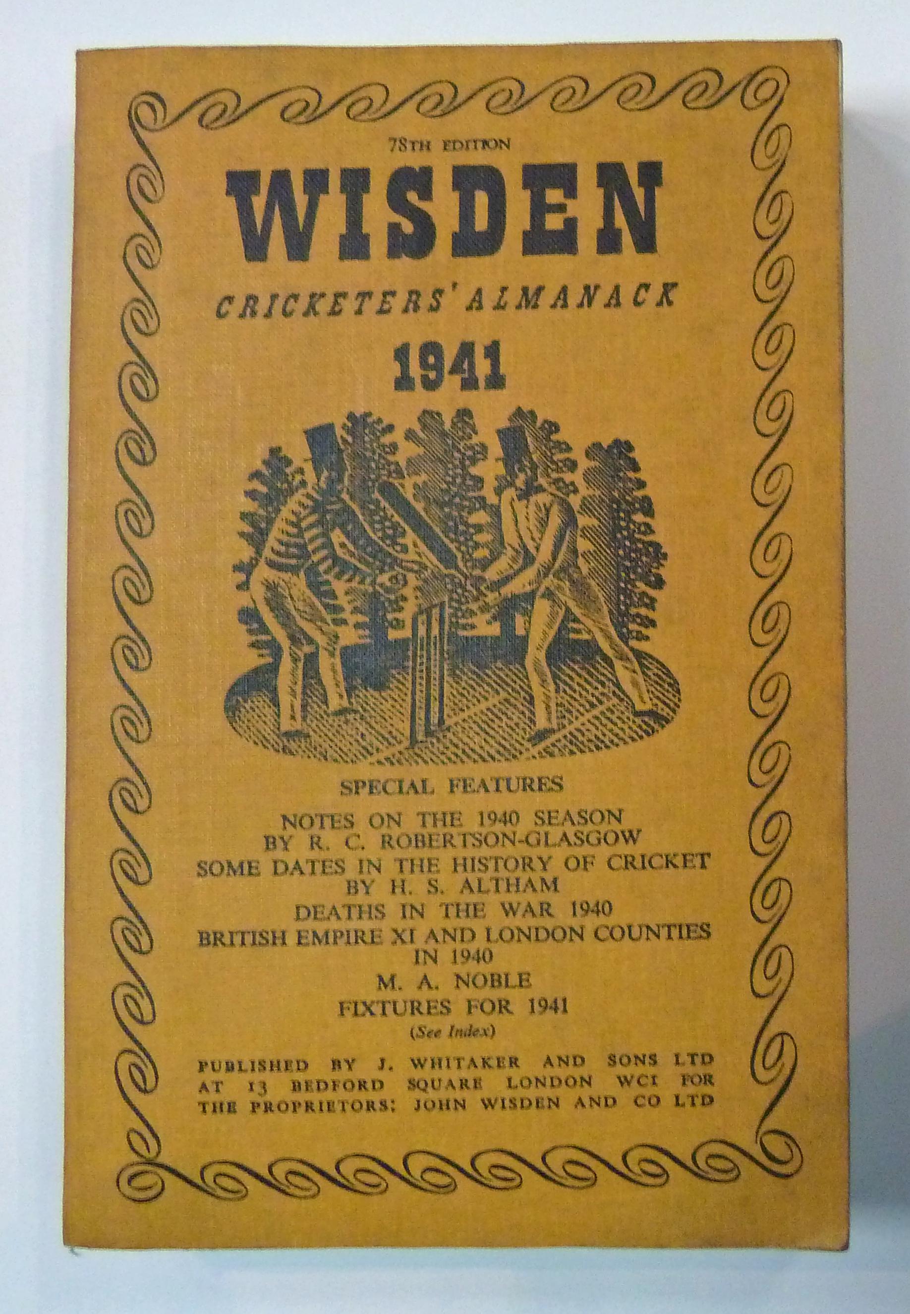 Wisden Cricketers' Almanack 1941