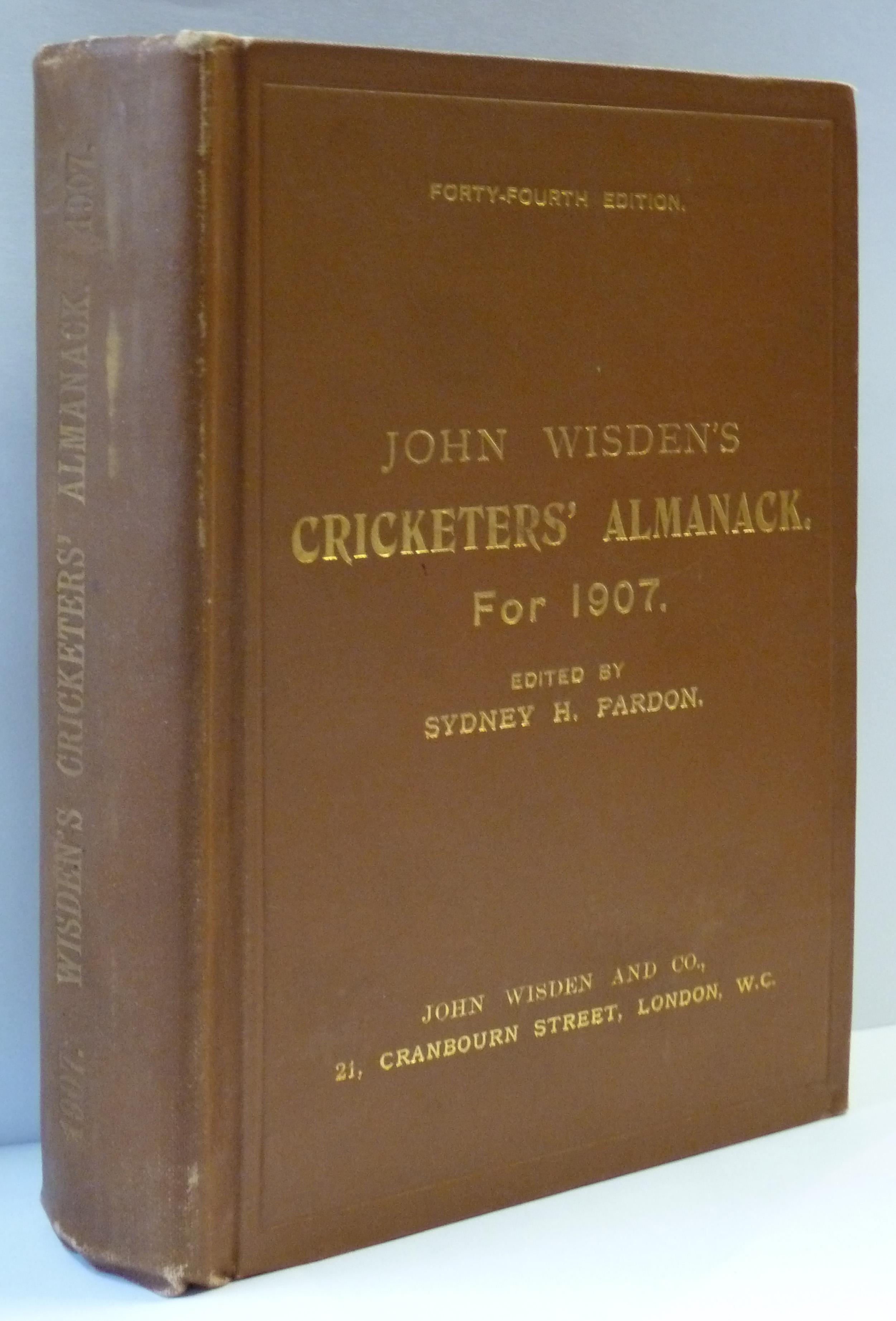 John Wisden's Cricketers' Almanack for 1907