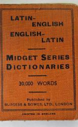 Latin English -English Latin Midget Series Dictionaries