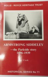 Armstrong Siddeley - the Parkside Story 1896-1939