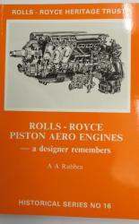 Rolls-Royce Piston Aero Engines - a Designer Remembers