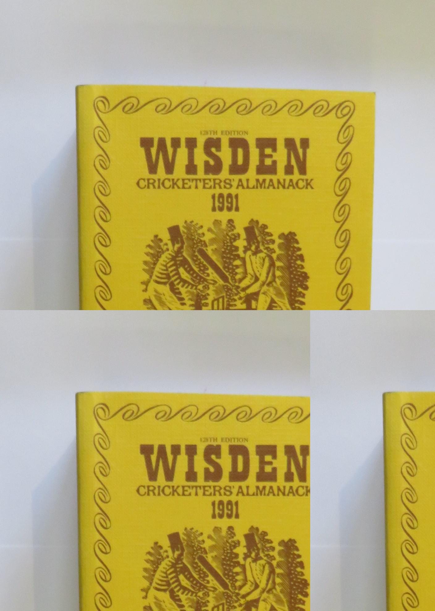 Wisden Cricketers' Almanack 1991