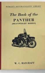Pitman's Motor-Cyclists' Library The Book Of The Panther Heavyweight Models